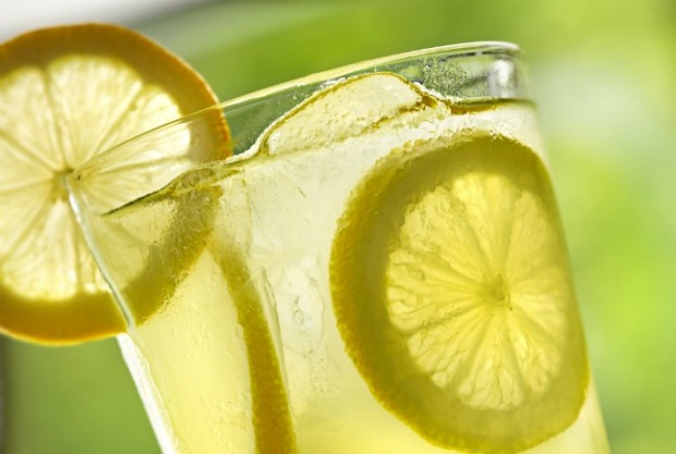 glass lemonade