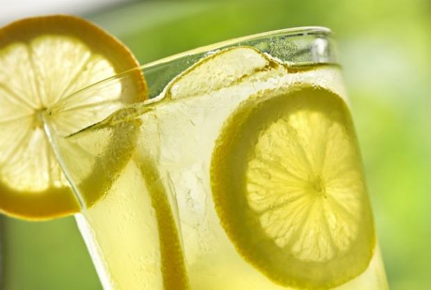 glass lemonade